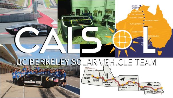 CalSol - The UC Berkeley Solar Vehicle Team Image