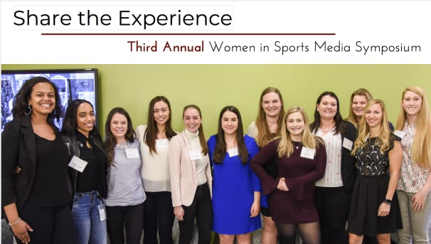 Women in Sports Media Symposium Image