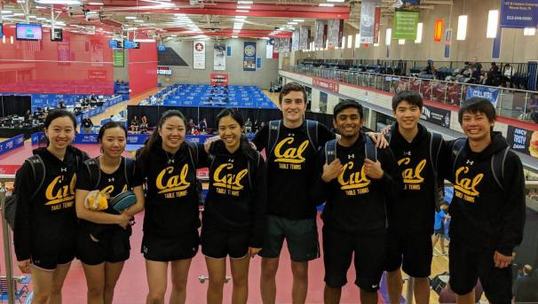 Cal Table Tennis Road to NCTTA Nationals Image