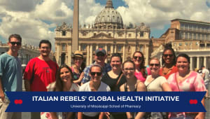 Italian Rebels' Global Health Experience