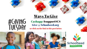 GIVING TUESDAY @ SchoolSeed Foundation