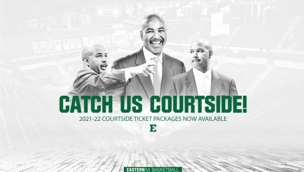 2021-22 Men's Basketball Courtside Seating Image