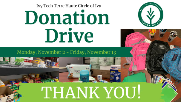 Terre Haute Circle of Ivy Donation Drive Image