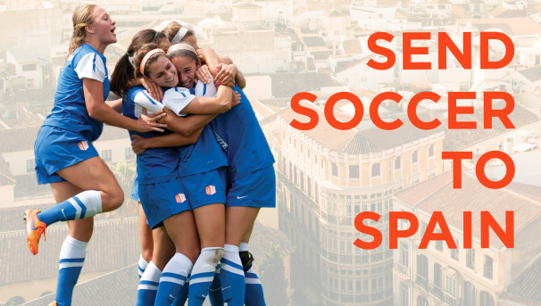 Send Soccer to Spain! Image