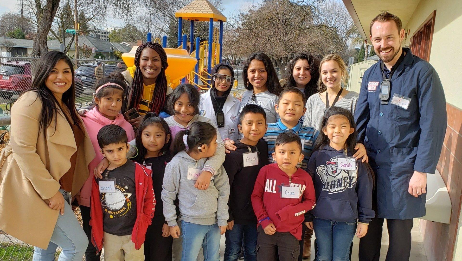 Fresno State Chemistry Club @ Birney Elementary (January 2020)