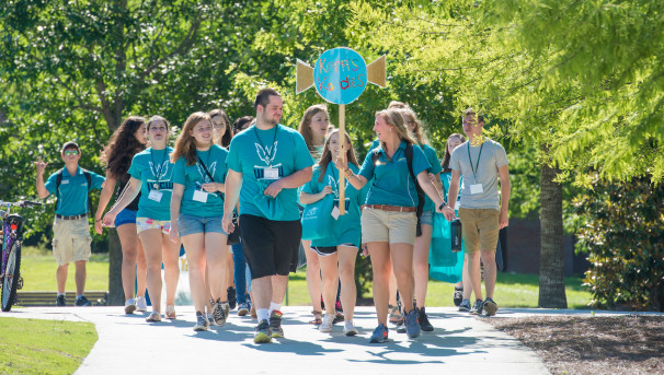 UNCW Orientation Leaders Attend SROW Image