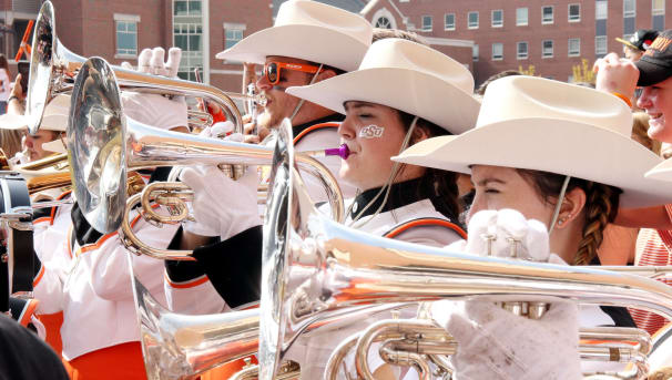Help Repair Aging Cowboy Marching Band Instruments Image