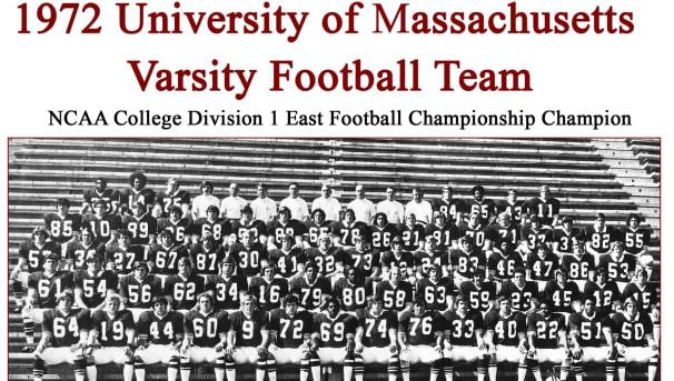 UMass Football '72 Boardwalk Bowl Champions Image