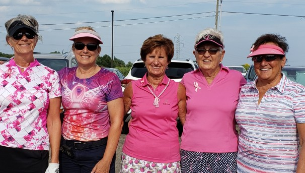 Par-Tee Girls For Breast Cancer Research Image
