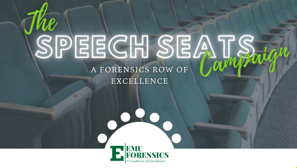 Speech Seats: A Forensic Row of Excellence Image