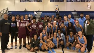 East High School Lady Mustangs Basketball