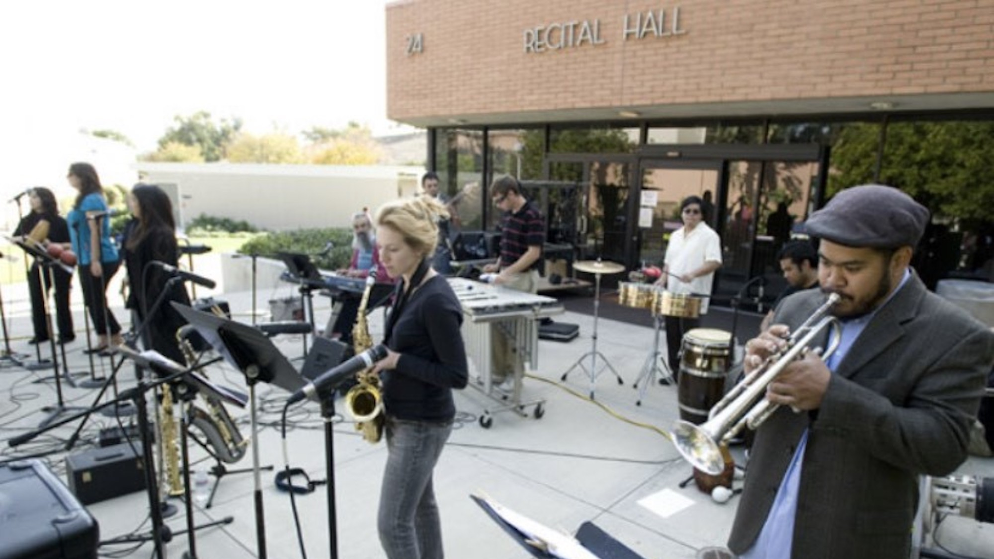 Band in Action