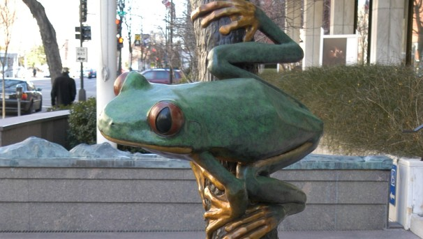 A Frog for The Department of Biology (Art … Spirit … Science) Image
