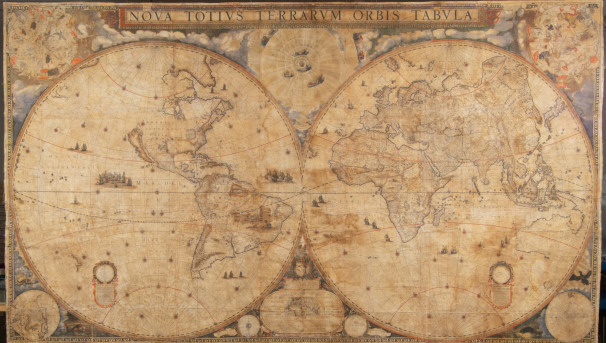 Preserve a one-of-a-kind world map Image