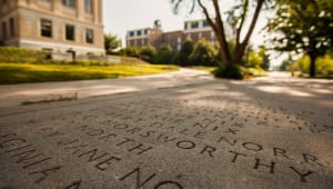 Etched in Stone: U of A Students Help #SaveSeniorWalk