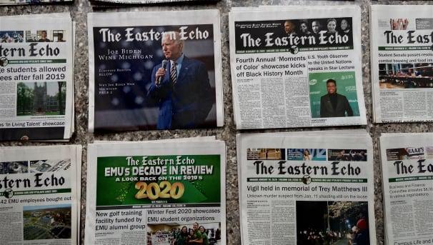 Eastern Echo: Save Student Journalism at EMU! Image