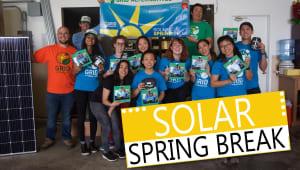 Solar Spring Break | 2019