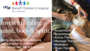 Help bring pain management therapies to children with cancer