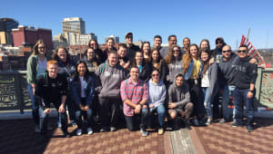Pitt-Greensburg Habitat for Humanity Spring Trip