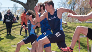 WWU Track and Field - Sprints 2019-20
