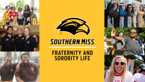 Support Fraternity and Sorority Life at Southern Miss!