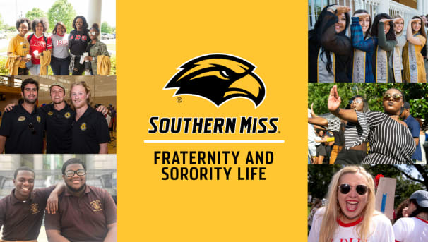 Support Fraternity and Sorority Life at Southern Miss! Image
