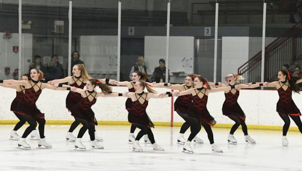 Purple Line Ice Time (Club Figure Skating) Image