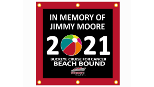 "2021 Buckeye Cruise for Cancer ""Cruising for a Cure"" Sponsor Flag"