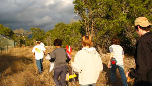 Field Biology's Bracken Cave Trip