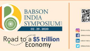 Support Babson India Symposium 2020