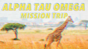 Support Alpha Tau Omega's Mission Trip