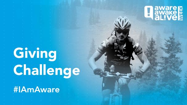 #IAmAware Giving Challenge Image