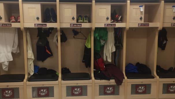 Men's Cross Country and Track & Field Locker Room Renovation Image
