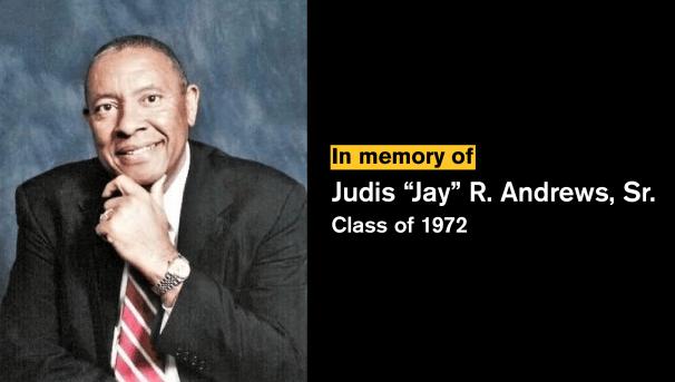 Jay Andrews Memorial Scholarship Image