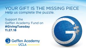 Calling all Geffen Academy Educators: #GivingTuesday