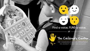 Find a Voice | FUND a Voice, at The Children's Center