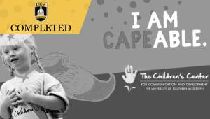 The Children's Center Campaign for CAPEability