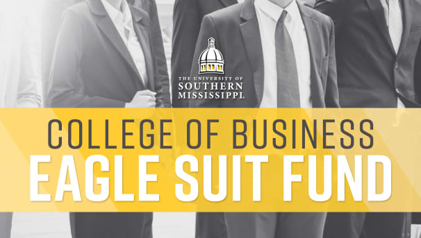College of Business Eagle Suit Program Image