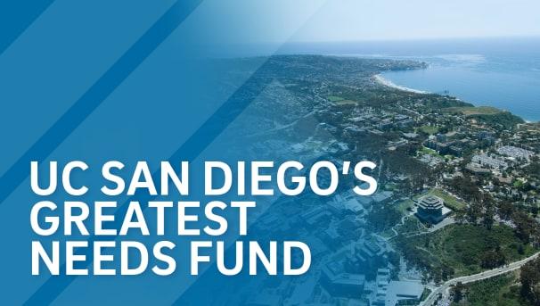 UC San Diego's Greatest Needs Fund Image