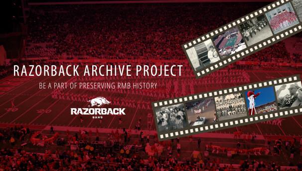 Razorback Band Archive Project Image