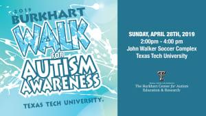 Burkhart Walk for Autism Awareness