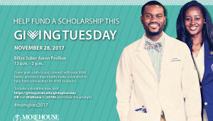 Morehouse School of Medicine Giving Tuesday