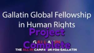 Gallatin Global Fellowship in Human Rights