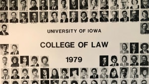 College of Law Class of 1979: 40th Reunion Class Gift