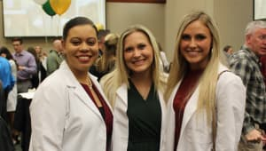School of Nursing's White Coat Ceremony