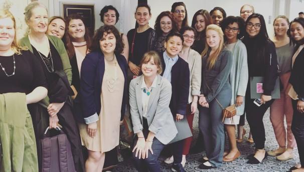 National Young Feminist Leadership Delegation 2018 Image