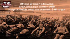 UMass Rowing: Finishing the Ergs
