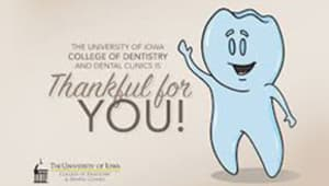 UI College of Dentistry Faculty and Staff Campaign