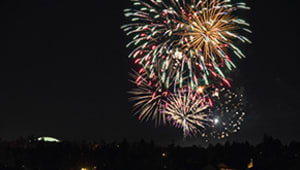 2021 Homecoming Fireworks