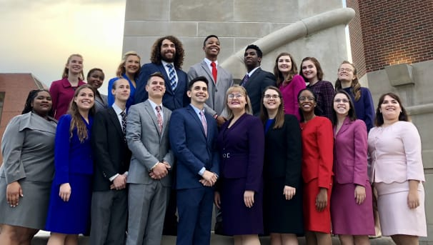 Ball State Speech on the road to nationals!  Image